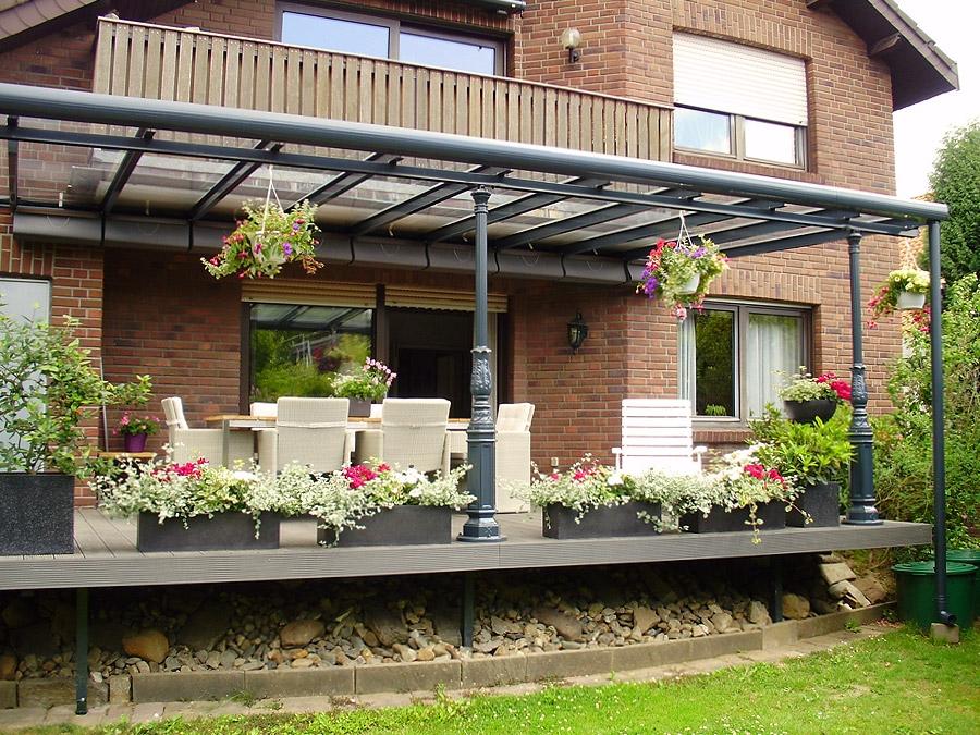 Sunhouse outdoor living classic line terrasoverkapping veranda exclusieve design stijlen - Smeedijzeren pergola ...